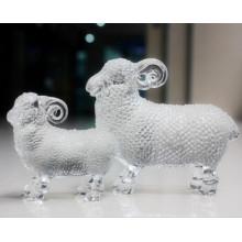 Precioso Crystal Sheep Crystal Animal Figurine