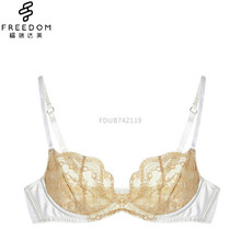 High quality hot lace girls metical lace new design underwear satin bra and panty sets photos