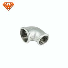 Codo de montaje de tubería Gi moldeado Reducción de accesorios de tubería de hierro maleable