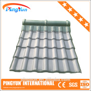 PVC polymer roof tile for house