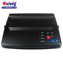 Solong Tattoo Top Quality Tattoo Stencil Transfer Machine Black Thermal Copier Maker For Transfer Papers 20 Pcs Transfer Paper T