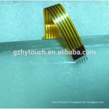 Module tactile résistant à grande taille 5 fils personnalisé