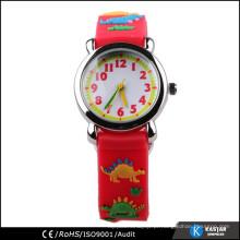 Desenhos animados coloridos do relógio da correia de impressão, relógio infantil