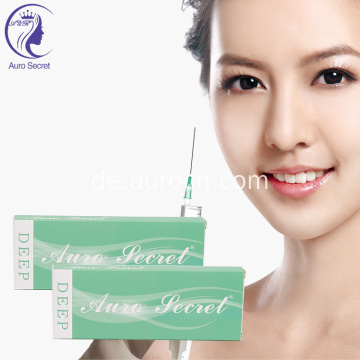 Hyaluronic Acid Injectable Dermal Filler Gesicht