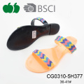 Trendy Fashion Cheap Women Pvc Slippers