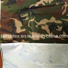100% Poly Oxford Stoff mit Weiß beschichtet für Militärgewebe