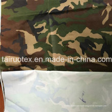 100% poly Oxford tissu avec revêtement blanc pour le tissu militaire
