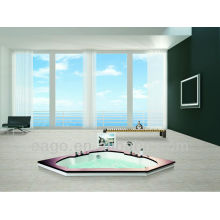 Triangle Shaped Luxury Acrylic Massage Bathtub (AM193ET)