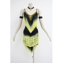 Robes de bal latines jaunes