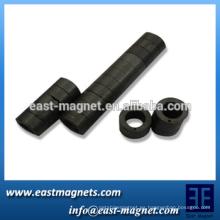 Imán de ferrit del anillo magnético multipolar para las bombas de agua / el imán duro del ferrit del rotor