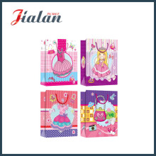 Cheap Garments Packaging for Dresses Customize Waterproof Paper Shopping Bag