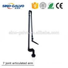 High quality 7-Joint CO2 Fractional Laser Torsional Spring type Articulated Arm for CO2 factional laser