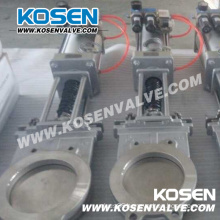 Flanged Knife Gate Valve (PZ43F)
