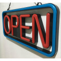 Neon Open Shop Sign LED para venda