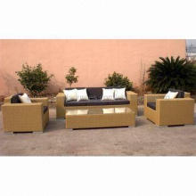 Rattan Furniture, Available in Various Sizes, OEM Orders are Welcome