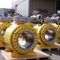 Forged Steel Trunnion Mounted Flange End Ball Valve