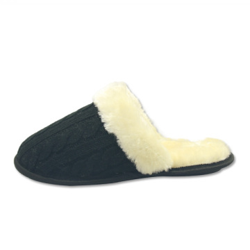 warm furry indoor house slippers for adults