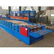 Rolo galvanizado da plataforma de assoalho da construção de aço que forma a máquina