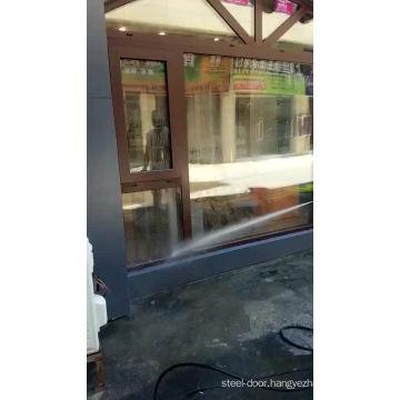 Sound proof cheap aluminum glass windows doors