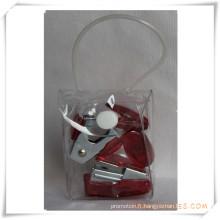 Set de papeterie de boîte de PVC pour le cadeau promotionnel (OI18012)
