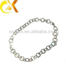 Collares delicados de las mujeres de la plata de la joyería del acero inoxidable del regalo