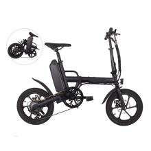 """Bicicleta eléctrica de ciudad plegable de aleación de aluminio de 16 """"36v 250w"""
