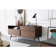 Wooden TV stand modern style