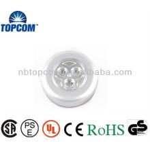 3 LED Push Light con multifunción
