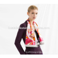 Hot! BAOSHIDI names of scarf womens silk scarf screen printing satin silk scarf