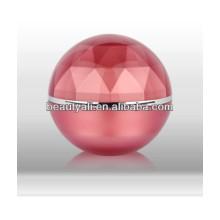 5ml 15ml 20ml 30ml 50ml 80ml 100ml Lujo Doble Diamante Diamante Cosmético Jar