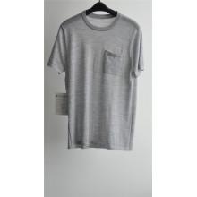 2016new 100% algodão manga curta homens camisola