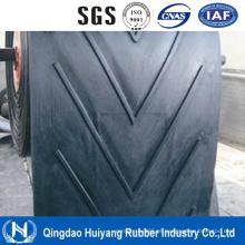 Correia transportadora de nylon resistente alta para o cimento, plantas concretas,