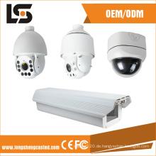 Weiße Kuppel CCTV-Kameraabdeckung IP66 Druckgussteile