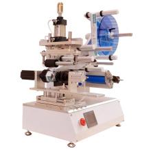 Máquina de rotulagem manual de mesa para garrafa quadrada
