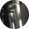 Tubulação de água de fumar clara e transparente