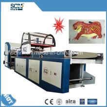 Máquina para fabricar globos metálicos