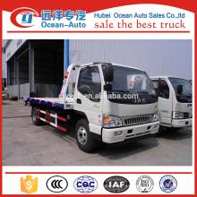 JAC 4ton vehículo de rescate de carretera con 3800 mm de distancia entre ejes para la venta