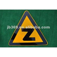 Высокое качество стекловолокна армированных пластиков треугольник дорожный знак доска