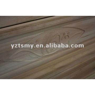 antigua talla de madera