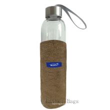 Sacos da juta para a garrafa de água