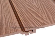 Windproof Waterproof Outside Wooden Wall WPC Composite Wall Panel External Wood Look Wall Facade Cladding