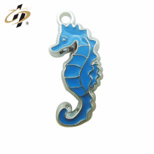 Encantos y colgantes promocionales modificados para requisitos particulares baratos del caballo de mar de mar