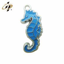 Cheap Customized Promocionais encantos e pingentes de metal cavalo-marinho