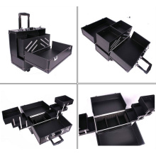 Make up Case Black PVC Beauty Case New (HX-N028)