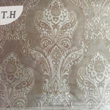 Tissu de velours d'Italie en relief 3D par 300GSM