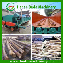 the professional design Wood shell peeling machinery /wood log debarker machine for forestry industrial