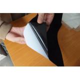 self adhesive velvet fabric vinyl stickers