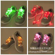 Laços de sapato piscando, cadarços de sapato de brilho, LED piscando cadarços