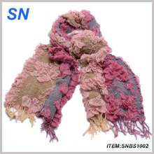 Women′s Ruffle Bubble Scarf