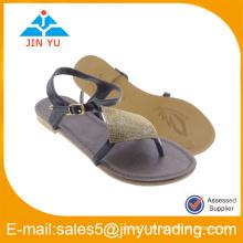 OEM & ODM sandalias de los zapatos de la comodidad del precio bajo para la señora